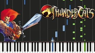 Thundercats - Theme song [Synthesia Tutorial]