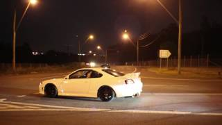 Cars leaving EOMM Meet + Roadside Banta