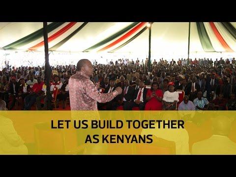Let us build together - Uhuru