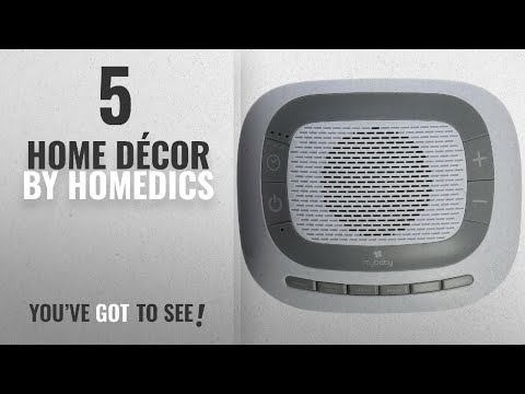 Top 10 Home Décor By Homedics [ Winter 2018 ]: MyBaby SoundSpa White Noise Machine, Plays 6