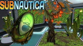 Subnautica - THE EGG NEST, BASE FARMING - Ep17 (Subnautica Early Access Gameplay)