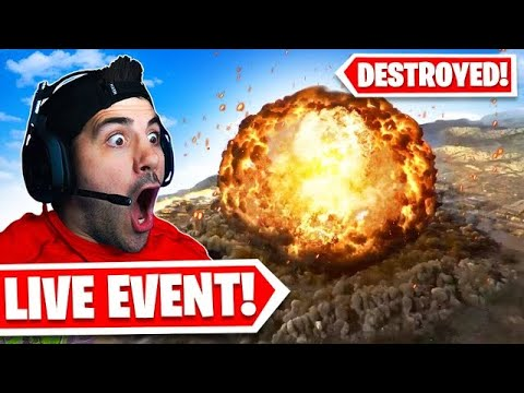 Warzone was DESTROYED! *INSANE NUKE LIVE EVENT!*