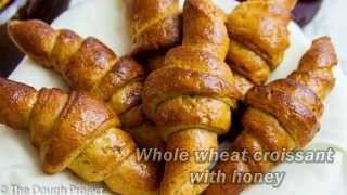 Whole Wheat Croissant With Honey