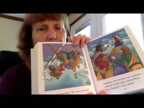 "The Beginners Bible - ""Jesus Walks on Water"" - Read by Judy DuPaul"