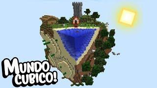 Minecraft: QUANTO TEMPO VOCÊ CONSEGUIRIA SOBREVIVER EM UM MUNDO ASSIM?