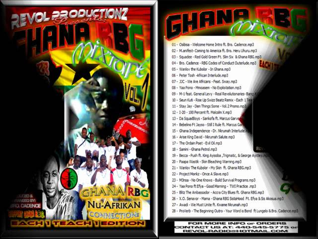 LEAKED Ghana RBG Mxatpe Vol.1 - Track 14-16 (Check Out Da Description) Travel Video