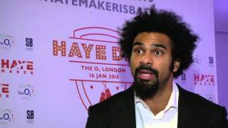 Haye: money not reason for boxing ...