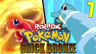 ROBLOX Pokemon BrickBronze: Defeating Sebastian at the Brimber City Gym for the Brimstone Badge!