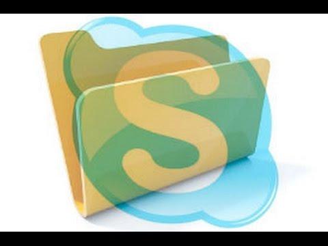 Где находятся фотографии в Skype на Win 7