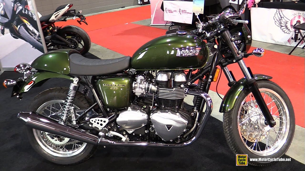2015 triumph thruxton 900 walkaround 2015 salon moto de quebec youtube. Black Bedroom Furniture Sets. Home Design Ideas