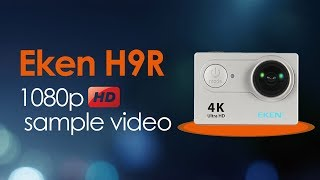 ... in this video scene, i have shown you the test of eken h9r w...
