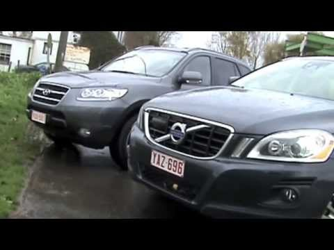 Rijtest: Hyundai Santa Fe 2.2 CRDI vs. Volvo XC60 DRIVe
