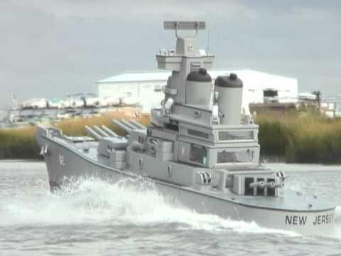 Battleship New Jersey Replica