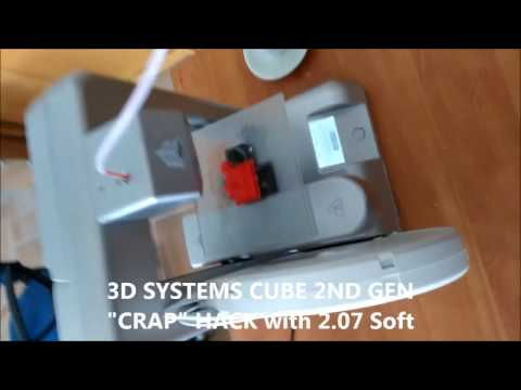 3D SYSTEMS CUBE BULK HACK 100% Working - YouTube