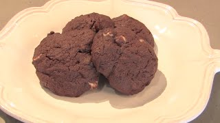 How To Make Gluten-free Double Chocolate Chip Cookies