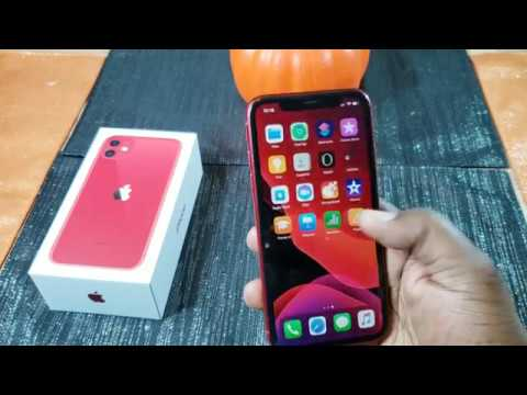 Apple IPhone 11 (Product Red) Unboxing And First Impressions