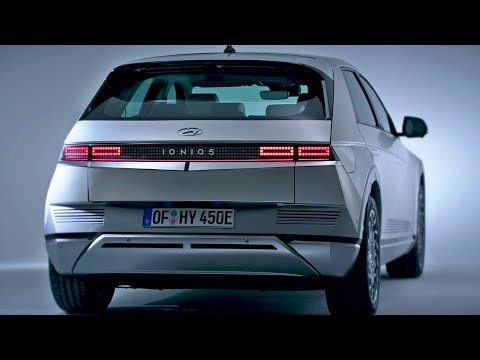 2022 Hyundai IONIQ 5 - Exterior and interior Details (Futuristic Car)