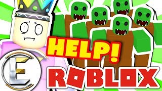A Zombie Attack In Roblox (Help there's hundreds of Zombies)