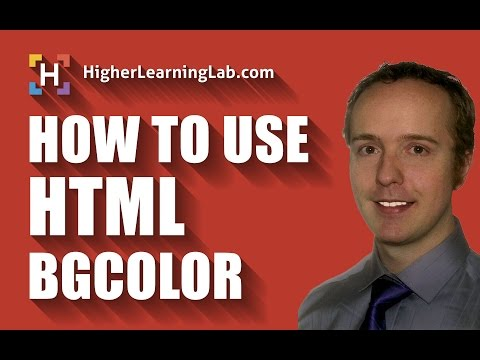 HTML BGCOLOR - How To Use It And Why You Shouldn't