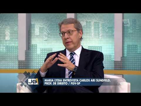 Maria Lydia entrevista Carlos Ari Sundfeld, prof.  de Direito/FGV SP