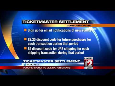 Troubleshooter: Ticketmaster settlement vouchers only to Live Nation events Mp3