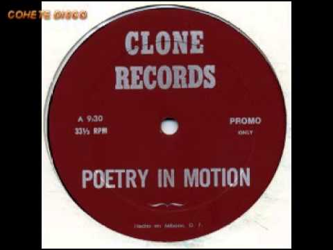 POETRY IN MOTION (1983) Medley New Wave - Italo DISCO remix