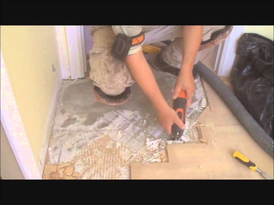 How To Level A Floor With Cork Underlayment Part 2 Of 4 Old Glue