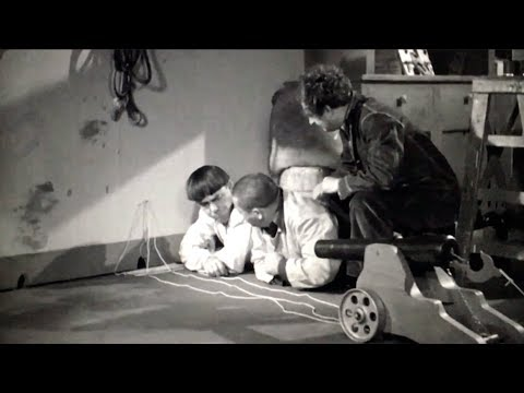 Three Stooges - The Boys Engineer a Mouse Trap - YouTube