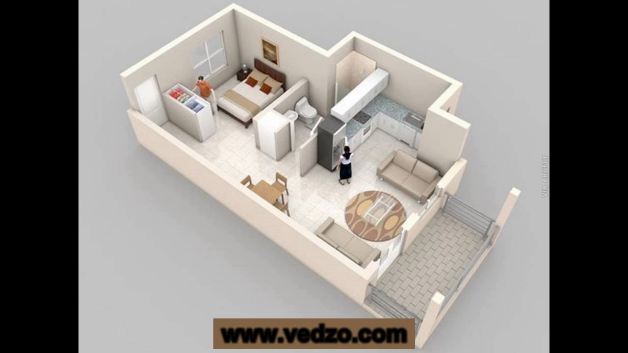 small one or two bedroom house plans best of 2017 - YouTube