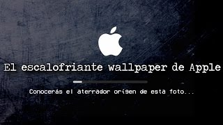 EL ESCALOFRIANTE WALLPAPER DE APPLE (Caso Real)