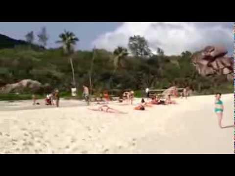Beautiful Beach at La Digue Island - Seychelles - Oriflame Executive Conference