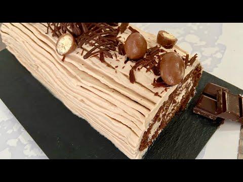 bÛche-kinder-chocolat,-recette-trÈs-gourmande-!
