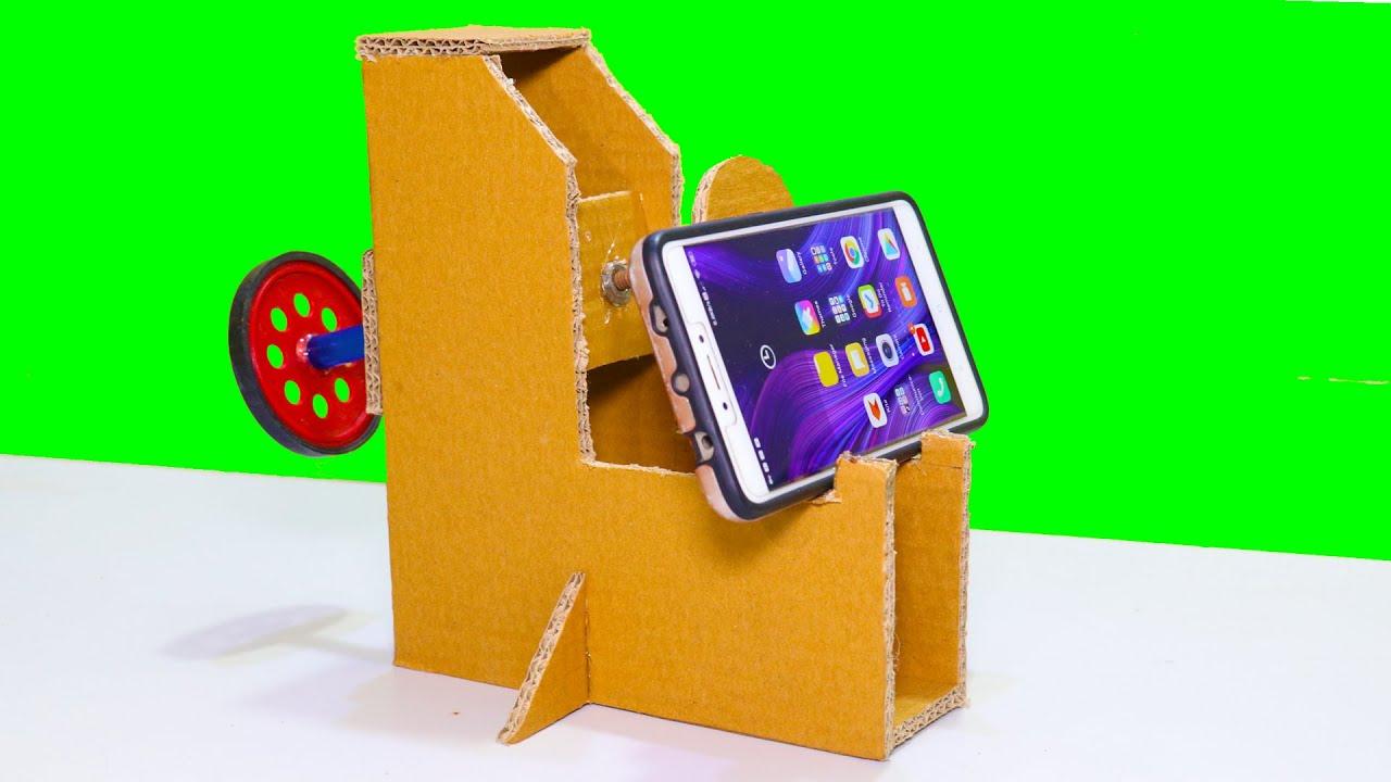 How To Make Mobile Stand (Adjustable)