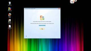 How to install Office 2007 Microsoft Windows 7 also works with XP,Vista, Vista64 HD