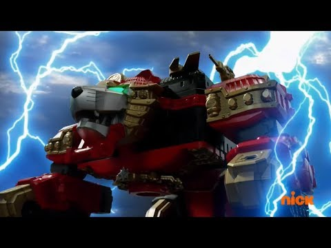 Power Rangers Ninja Steel - The Royal Rumble - Lion Fire Megazord Fight | Episode 15