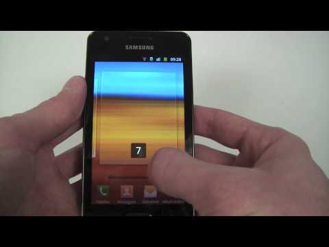 Samsung Galaxy R hands-on