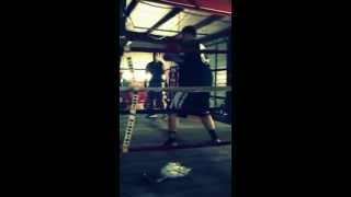 Sparring session WAR ZONE MMA