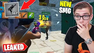 Using the *LEAKED* MACHINE PISTOL SMG in Fortnite Season 10 (26 Kill Solo squad)