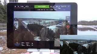 Квадрокоптер DJI Phantom 3 Professional ... POI mode и полет по точкам