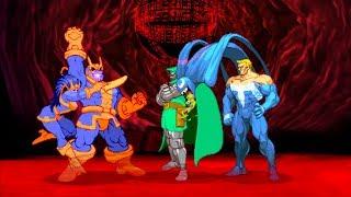 Marvel VS Capcom 2 - Thanos/Venom/Doctor Doom - Expert Difficulty Playthrough