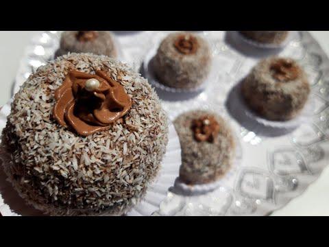 gâteau-au-chocolat-à-la-crème-et-noix-de-coco-حلوة-الشوكولاتة-بالكريمة-وجوز-الهند-خفيفة-جدا