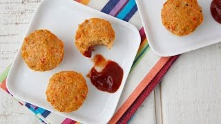 Cheesy Turkey Meatloaf Bites - Kid Friendly Dinners - Weelicious