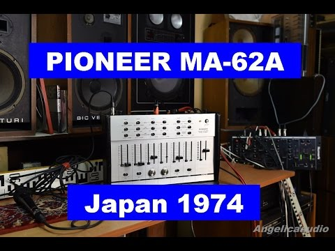 PIONEER Mixing Amplifier MA-62A made in Japan