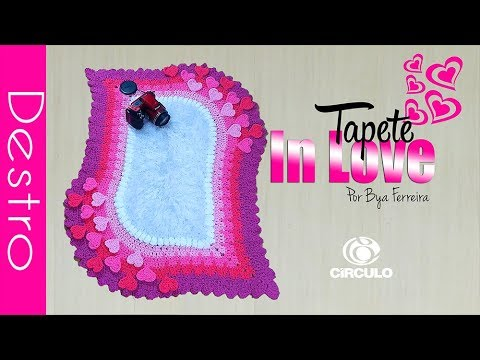 Tapete In Love 50 x 70 cm | BYA FERREIRA