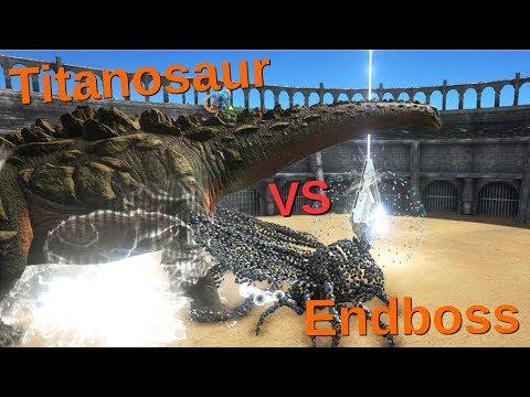 Titanosaur VS Overseer || ARK: Survival Evolved || Cantex