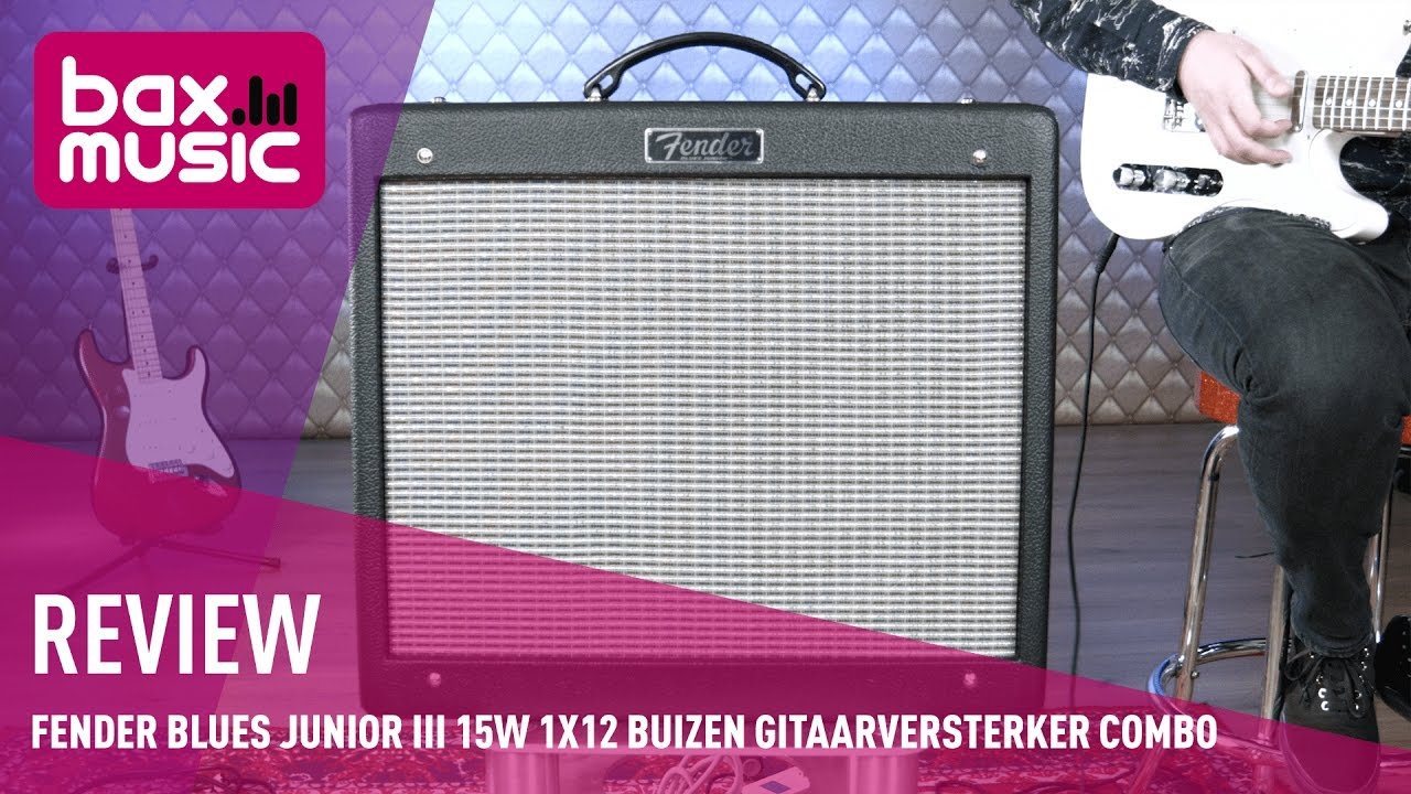 fender blues junior iii 15w 1x12 review youtube. Black Bedroom Furniture Sets. Home Design Ideas