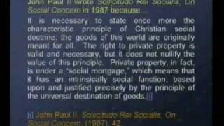 Social Justice and Rerum Novarum used for the Redistribution of Wealth