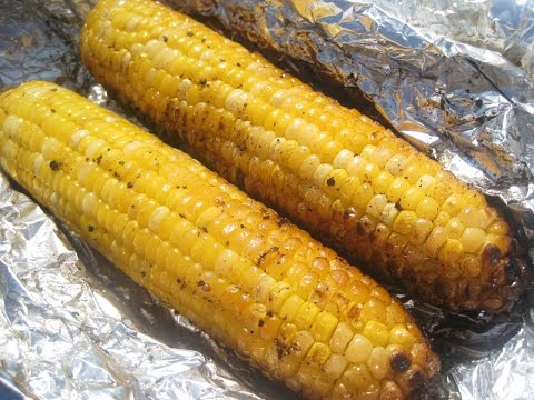 Grilled in foil CORN ON THE COB - How to GRILL CORN