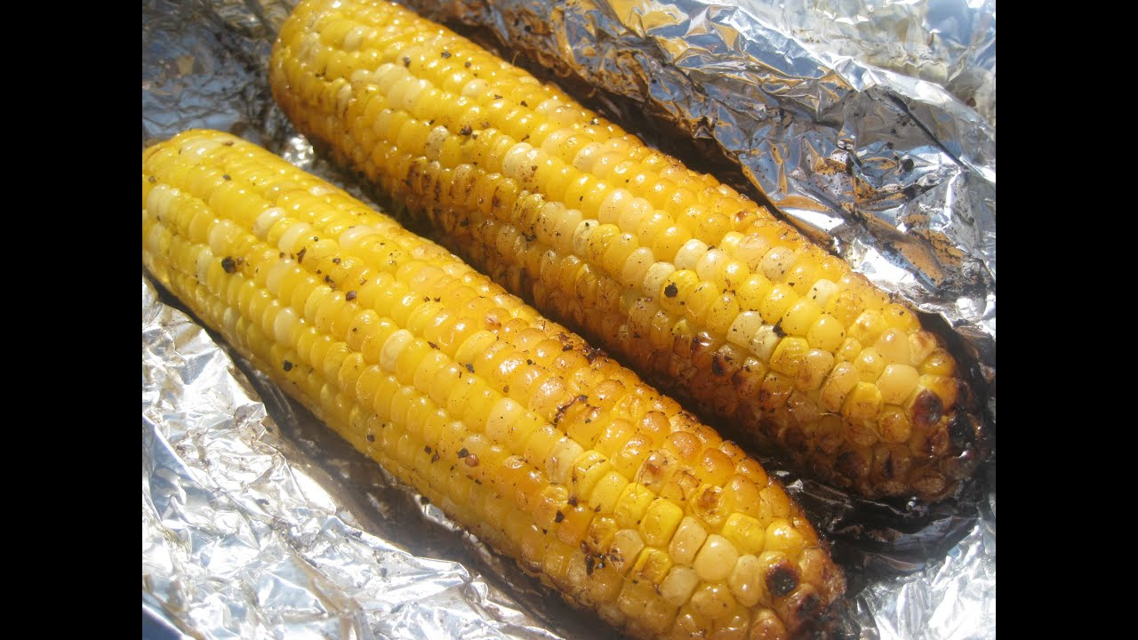 Grilled in foil corn on the cob how to grill corn youtube ccuart Image collections