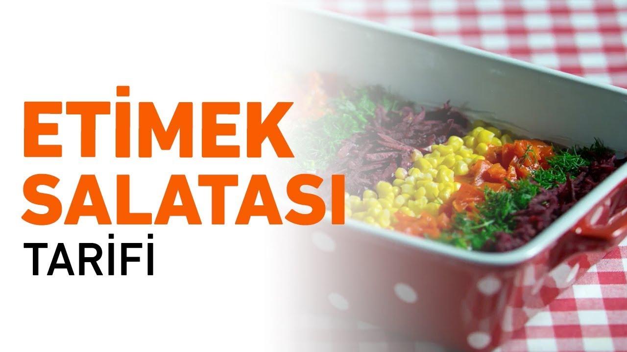 Etimek Salatası Yapımı Videosu